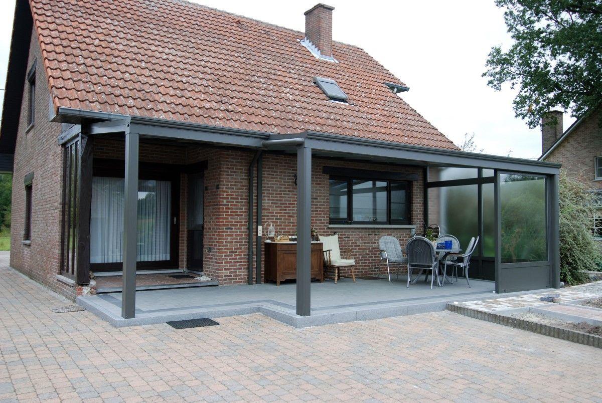 pergola en kit aluminium maison design. Black Bedroom Furniture Sets. Home Design Ideas